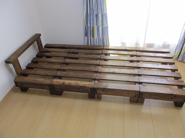 すのこベッド完成写真1