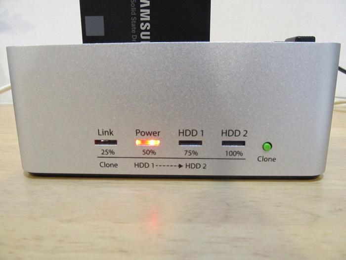 KURO-DACHI/CLONE/U3電源ON。PowerLED点灯。